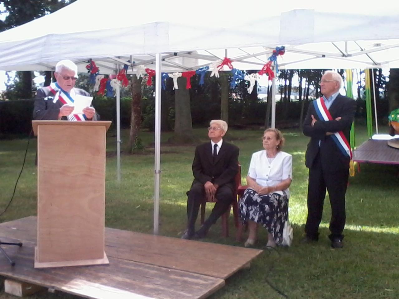 Inauguration du Parc Emile Monflier
