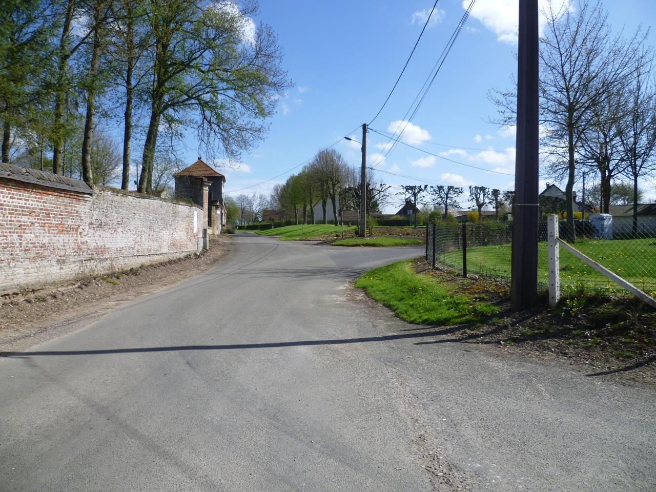 Route de Brailly