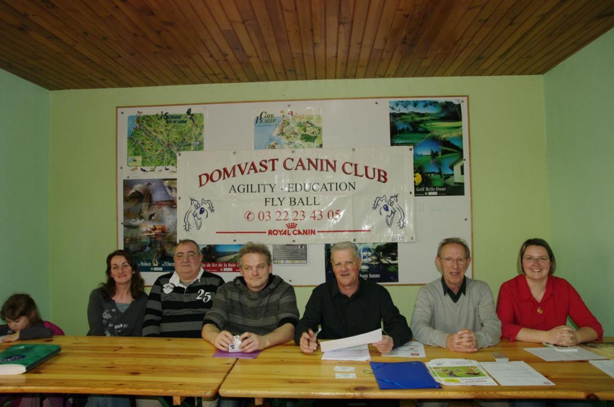 Les membres du Comité
